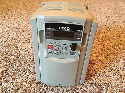 TECO 5HP 460V 3PH Input, 0-480V 3PH Output Variable Frequency Drive VFD