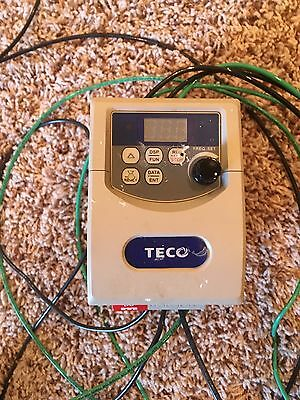 TECO 1HP 200-240V 1PH Input, 0-240V 3PH Output Variable Frequency Drive VFD