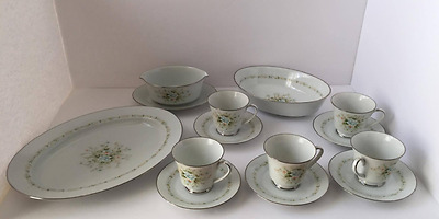 NORITAKE - Poetry - 2997 - set of  13 pieces