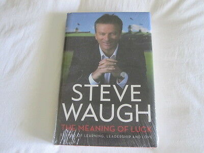 The Meaning of Luck By Steve Waugh-Brand NEW (HARDBACK)