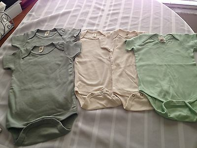 Organic Baby One-Piece  (Lot of 5) - New