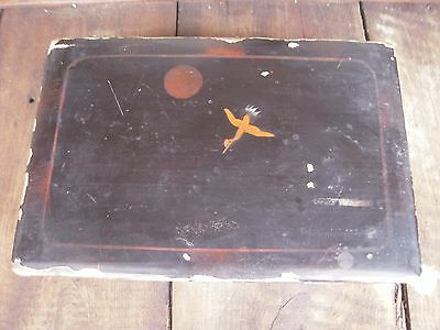 Antique-Vintage Japanese Lacquered Wooden Box