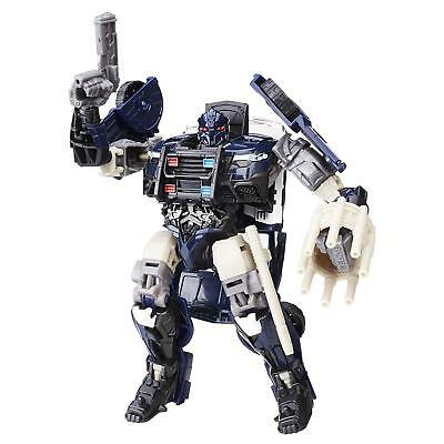 NEW Transformers The Last Knight Barricade Premier Edition Deluxe Police Car