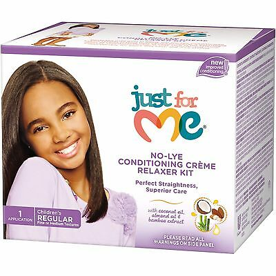 Just for Me No Lye Kids Relaxer Kit