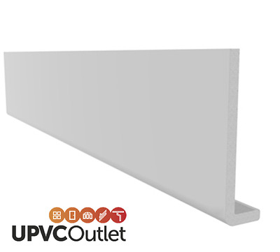 5mtr UPVC Flat Plastic Soffit Fascia Board General Purpose Utility board 9mm