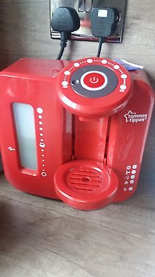 Tommee Tippee Perfect Prep Machine In Red