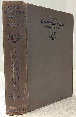 GONE WITH THE WIND - Margaret Mitchell, 1936, 1st ed. MAY 1936 - 1ST PRINTING