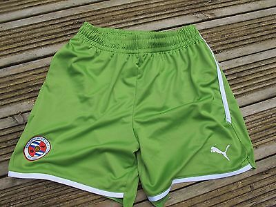 Reading FC football shorts Green BOYS LARGE & XLARGE BOYS SOCCER ELM PARK