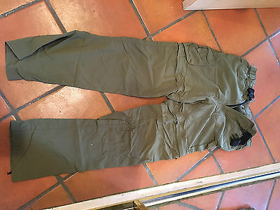 WOMENS BOY SCOUTS OF AMERICA OFFICIAL CONVERTIBLE SWITCHBACK PANTS, SIZE M, Inse