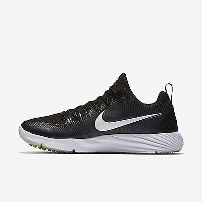 Nike Vapor Speed Turf Pre-Game Shoes Sizes 9-13 Black White 833408-017