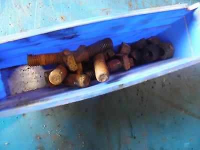 1951 Farmall Super A tractor rear rim bolts