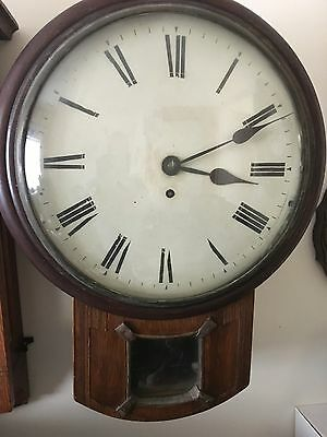 large Fusee drop dial clock