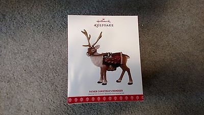 Hallmark 2017 Father Christmas's Reindeer New In Box
