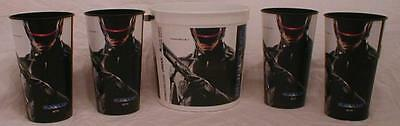 RoboCop 2014 Theater Promotional Family Pack 170 oz popcorn tub and 4-44 oz cups