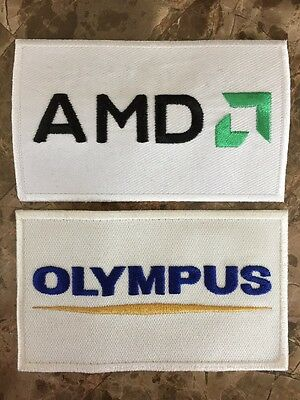 RARE Official Ferrari F1 Olympus & AMD Sponsor Uniform Patch - Massa Schumacher