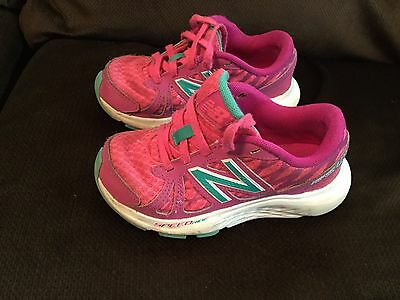 EUC Toddler Girl's New Balance Sneakers In Pink Size 10.5