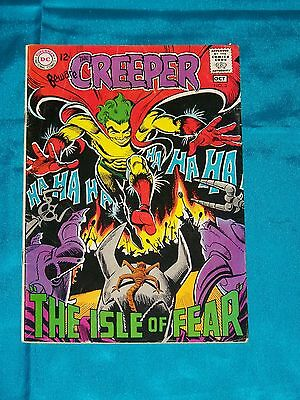 BEWARE THE CREEPER! # 3, Oct. 1968, STEVE DITKO ART, FINE PLUS Condition