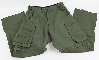 Official Boy Scouts America BSA Convertible Uniform Pants Size Relaxed 30 Cargo