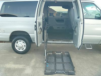 2006 Ford E-Series Van XLT Super Duty 2006 Ford E350 wheelchair adapted van with both joystick and OEM driver controls