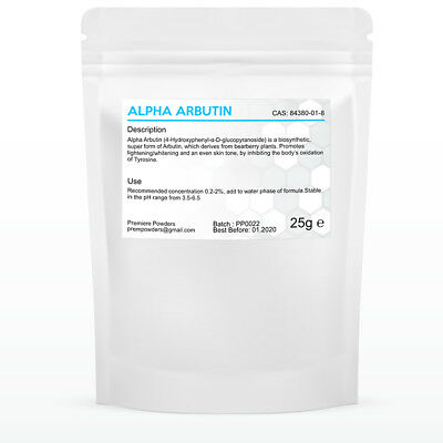 25g Pure  ALPHA Arbutin Powder For Skin Lightening