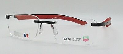 Tag Heuer 3842 002 New 2017 Line Rimless Designer Glasses Frames Mens 56-18-165