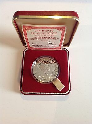 1981 Singapore Mint $10 Silver Proof Coin BU