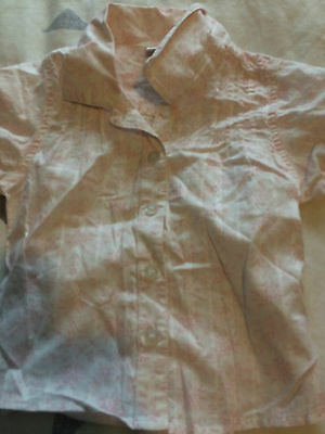 Girls summer shirt age 18-24 months