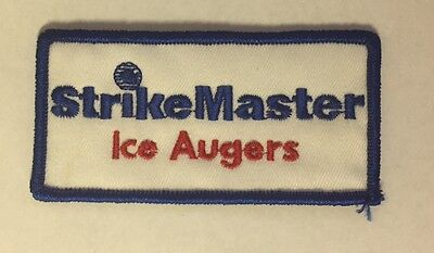 Strike Master Ice Augers Patch