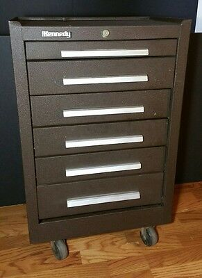 KENNEDY Rolling Roller Tool Box Cabinet 6 Drawer 206-139493 Chest