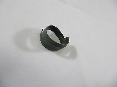 Ancient Viking Gothic Bronze Ring - 8-9 Century (Certificate COA)