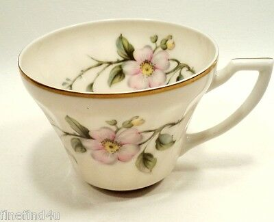 Apple Blossom by Syracuse China Minty Made in USA Coffee Tea Cup