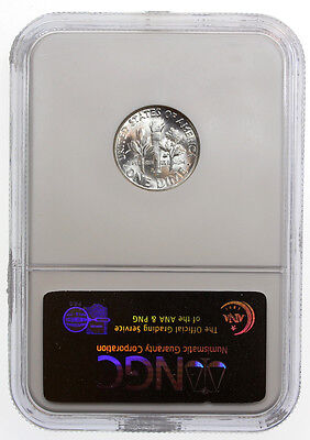 1950-S 10C Roosevelt Silver Dime NGC MS66