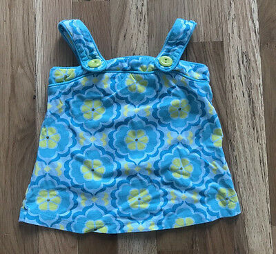BABY GAP - Flower Halter Top w/buttons - 2 years
