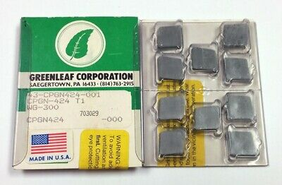 Cpgn-424 T1 Wg-300 Greenleaf 43-Cpgn424-001, (Pack Of 10) Cpgn-120316