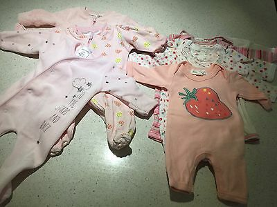 Baby Girl Clothes Pumpkin Patch Preemie Size 00000 And More **As New Condition**