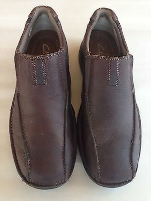 Clarks Men's Pickett Casual Genuine Leather Slip-On Shoes Size 10 / 10M 82290