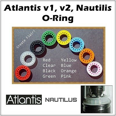 1 - Aspire Atlantis v1 , v2 Nautilus Orings 5ml ( ORing O-Rings Gasket Seals )