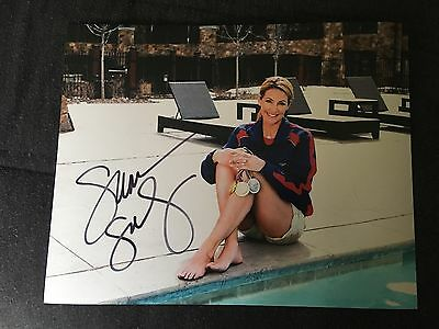 Summer Sanders Signed Autographed 8x10 Photo Olympic Gold Medal Swimmer