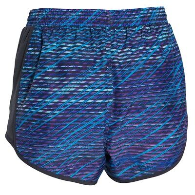 UNDER ARMOUR WOMEN/'S PRINTED FLY-BY COMPRESSION CAPRIS AUBERGINE VARIETY SIZE