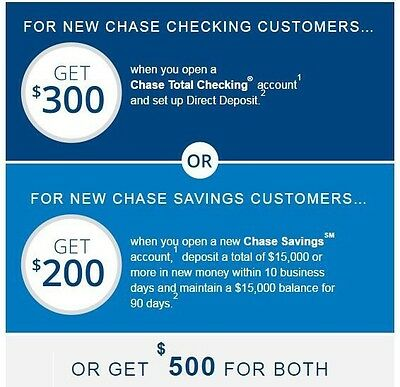 Chase Coupon 500