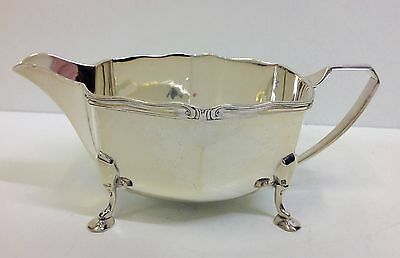 Solid Silver Milk Jug 181g. George Wish Sheffield 1930.