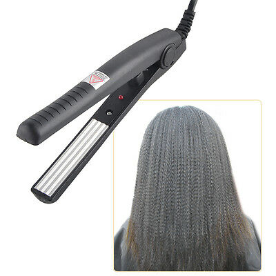 Electric Mini Iron Ripple Hair Straighteners Crimper Plate Hair Styling Tools