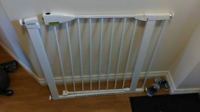 Lindam Stair Gate and 7cm Extension