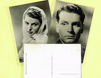 B.F.F. EDIT. (Italy) - 1950s Film Star Postcards #2000 to #2890 Continental Size