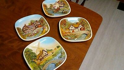 Legend Products England 3D Chalkware Wall Plaques