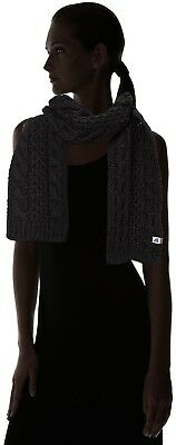 (One Size, Black/tnf Black) - The North Face Cable Minna Scarf. Shipping Include