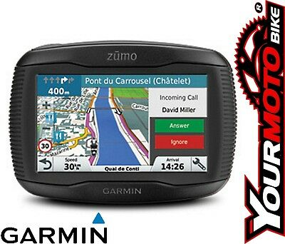 Garmin Zumo 345 LM Motorcycle Sat-Nav for Western Europe Bluetooth Handsfree