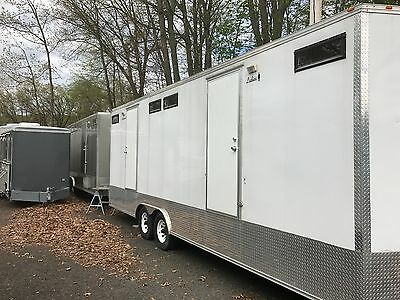 Executive Portable Restroom Trailers