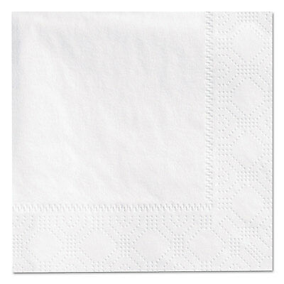 Beverage Napkins, 2-Ply, 9 1/2 X 9 1/2, White, 3000/carton