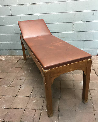 Edwardian massage bed examination bench tattoo table FREE MANCHESTER DELIVERY